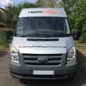 Moore Building Services Van (Ashford)